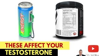 🍌How Caffeine, Energy Drinks & Pre-Workout Stimulants Affect Your Testosterone - by Dr Sam Robbins
