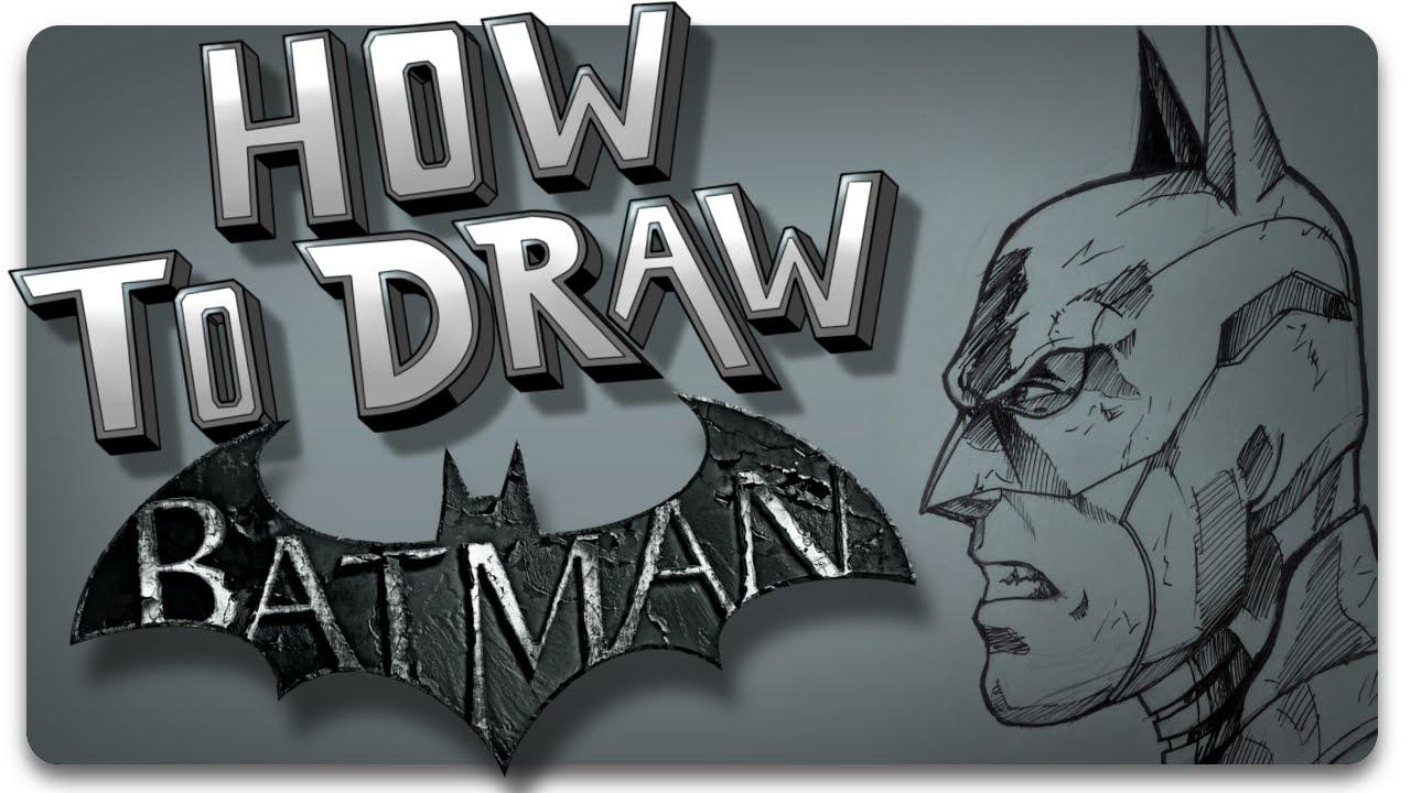 How To Draw Batman: Arkham Knight Version Step By Step