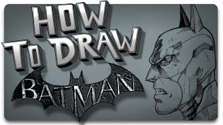 How To Draw Batman: Arkham Knight Version Step by Step - Smile Comic