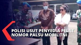 Viral Pamer Pelat Nomor Mobil TNI, Pelaku Mengaku Dapat Pelat Palsu dari Jakarta