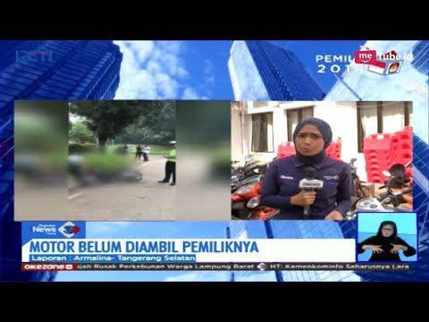 Usai Dirusak, Motor Pengendara yang Mengamuk Saat Ditilang Masih di Kantor Polisi - SIS 08/02