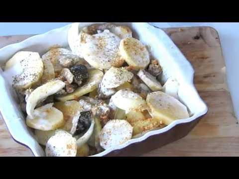 gratin-automnal-pommes-de-terre/champignons-#vegan