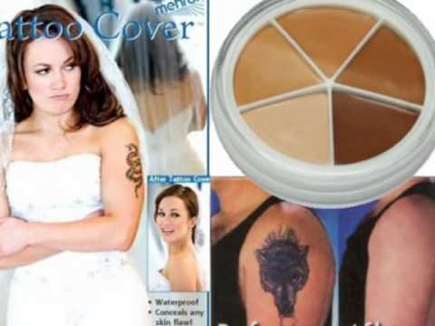 Tattoo & Scar Cover Makeup - YouTube