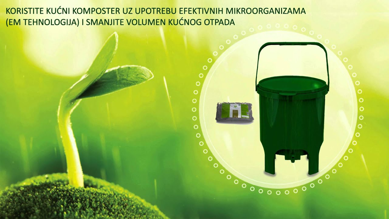 domko - kućni komposter - youtube