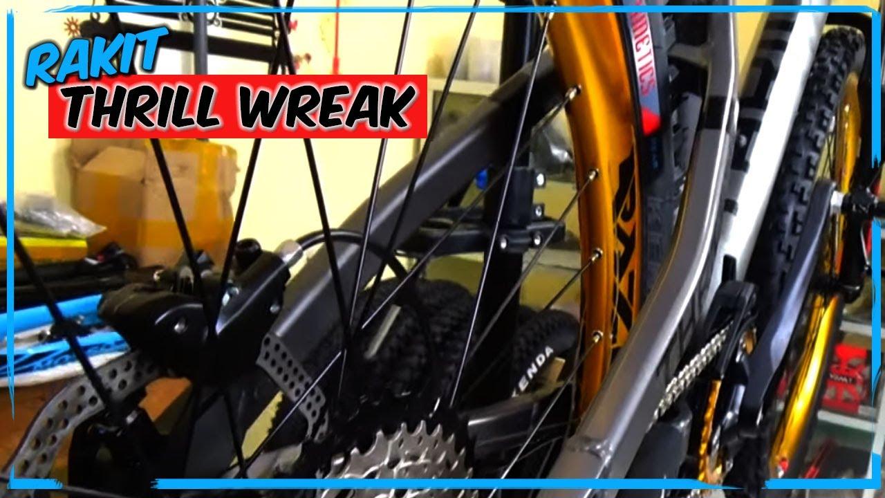 Merakit Thrill Wreak Dream Build 4x Bike Sepeda Asli Buatan Indonesia Youtube