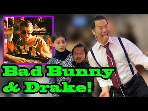 """Mia"" - Bad Bunny, Drake - Singing In Public!"