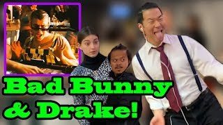 mia - Bad Bunny, Drake - Singing In Public!