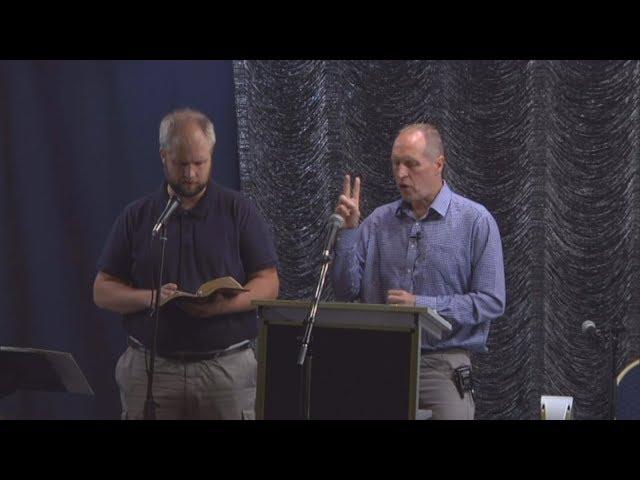 Mannen som nästan kom till himlen - Paul Malcomson - Slottsmissionens tältmöte 2018