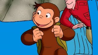 Curious George 🐵 Camping with Hundley 🐵Christmas Trip 🐵 Kids Movies | Cartoons for Kids