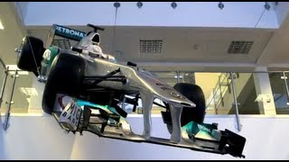 Lewis Hamilton's first day with Mercedes AMG Petronas
