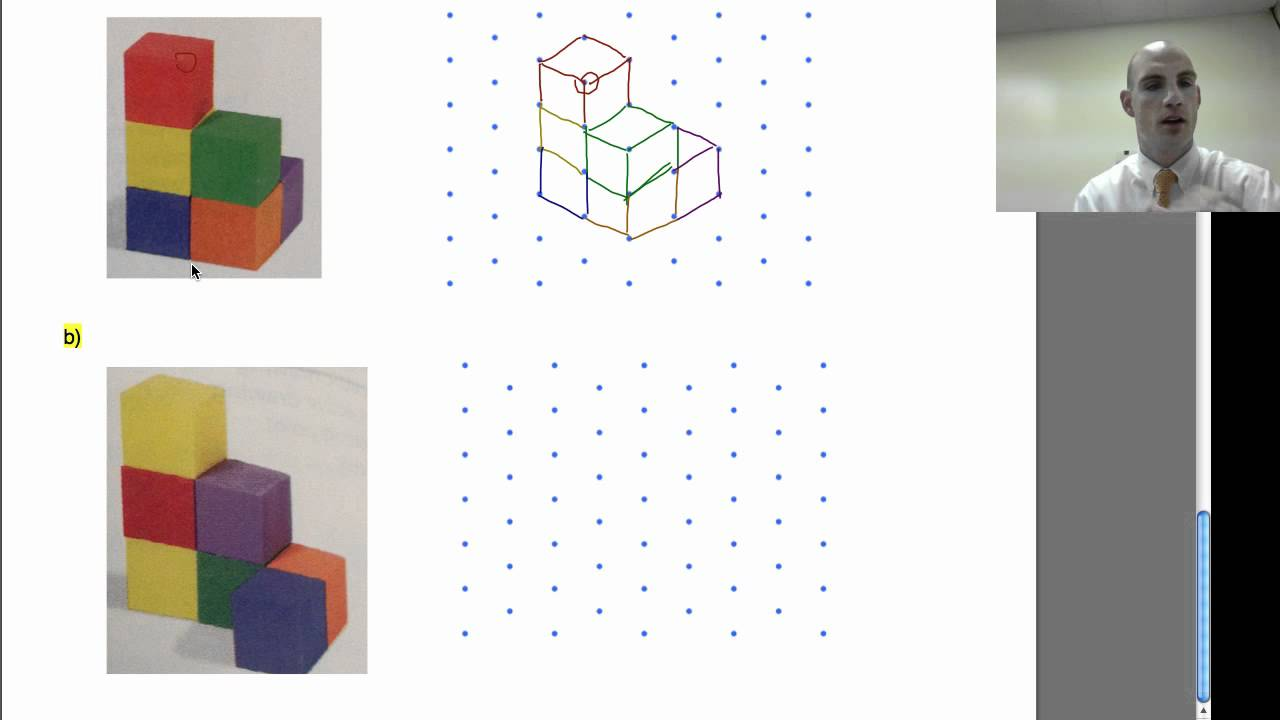 Isometric Dot Drawings Youtube