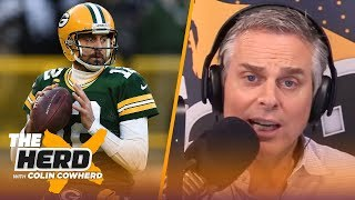 Colin lists 3 teams Rodgers could end career with if he leaves Packers, talks QBs | NFL | THE HERD