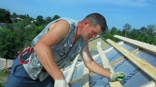 видео Обрешетка под металлочерепицу
