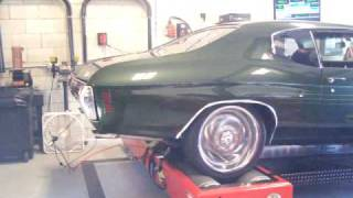 SV ENGINEERING 1971 Chevelle SS Chassis Dyno testing