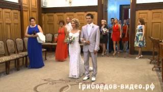 """Свадебное видео от студии """"Грибоедов-видео"""". Образец 3 - продленная версия ролика в DV качестве."""