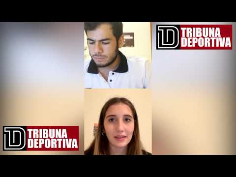 DANIELLA MUÑOZ CAMPEONA DE SALTO ALTO EN TRIBUNA DEPORTIVA.