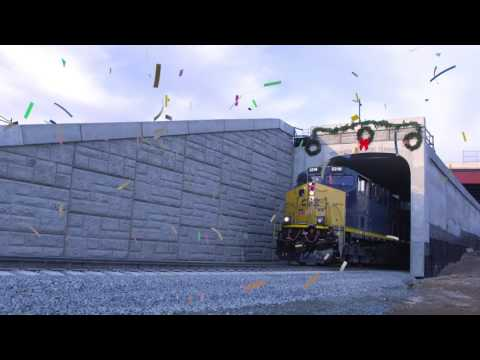First Virginia Avenue Tunnel Complete