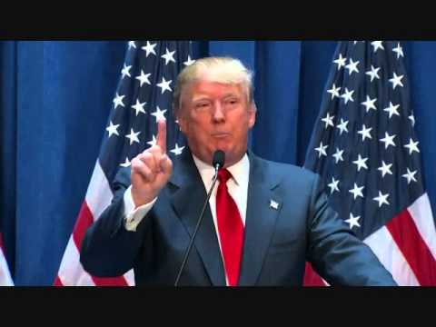 Donald Trump Announces He is Running for President - Complete Video 6/16/15