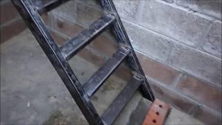 видео Лестница в подвал своими руками: как сделать правильно
