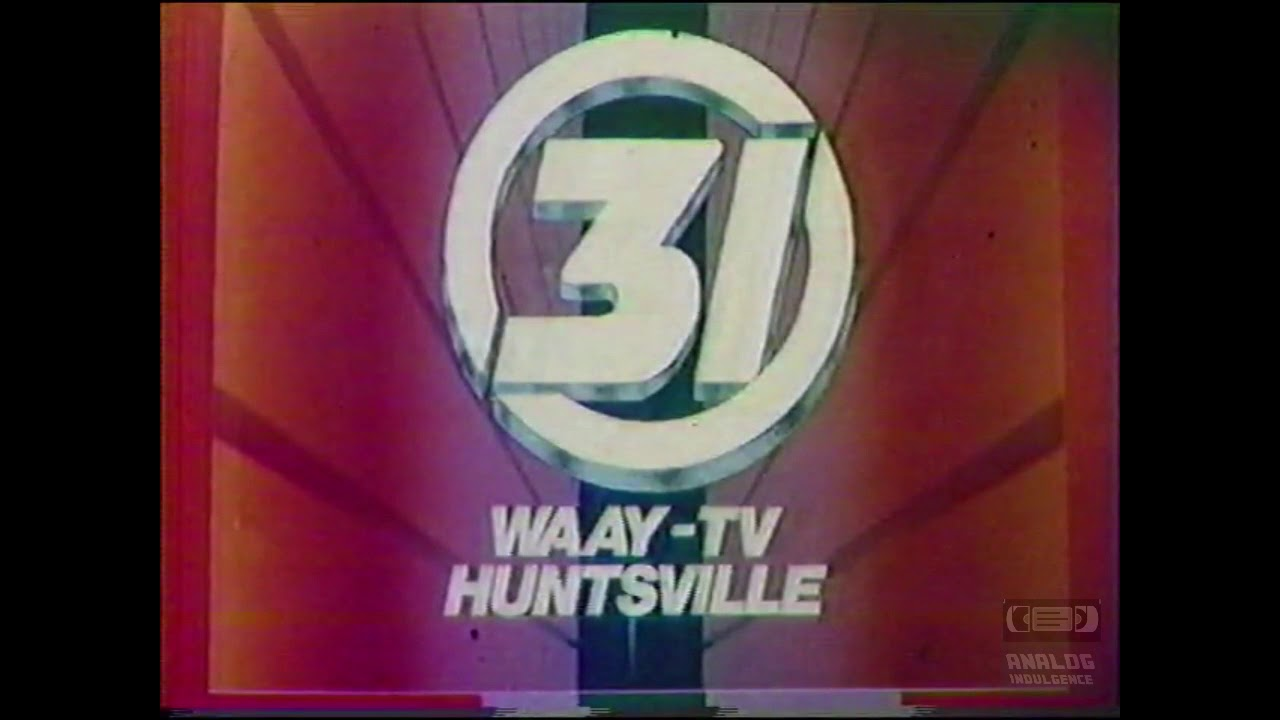 WAAY 31   Ident   1986   Huntsville Alabama