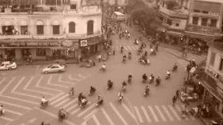 hanoi traffic from above