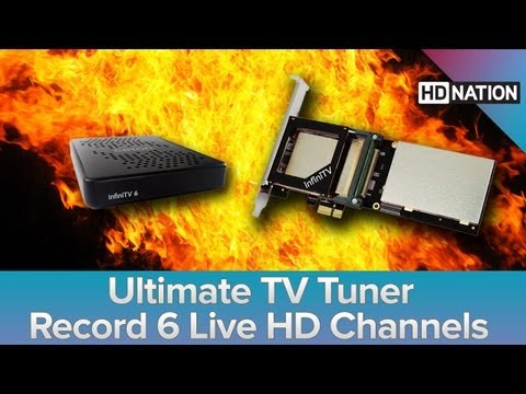 Build Your Own Cable DVR. Ceton infiniTV6. Disney App For Ap