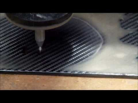 KMT Waterjet - Cutting Carbon Fiber Reinforced Plastic