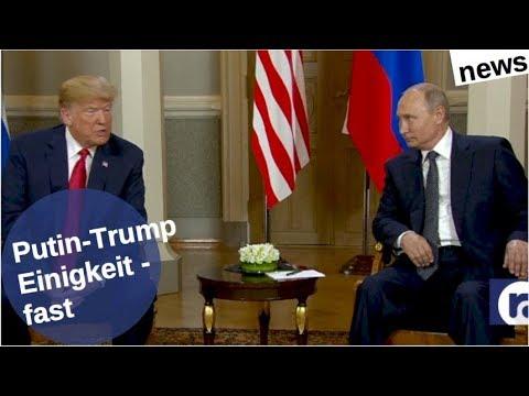 Putin-Trump: Einigkeit - fast