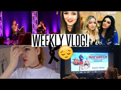 VLOG: A Q&A with Caspar Lee, The Baywatch Premier & A Sad Week...