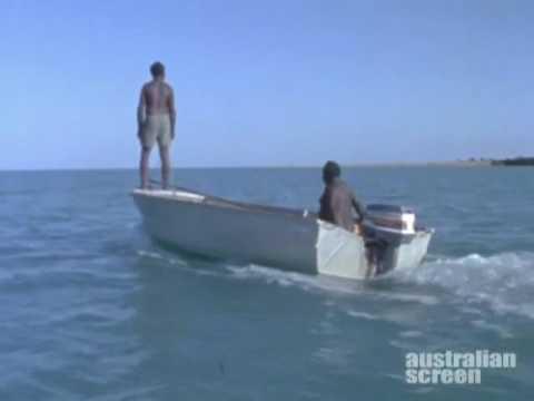 Aborigines Hunting Dugong