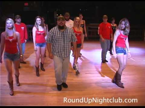 Round Up Line Dancers Teach The Aw Naw by Chris Young Dance