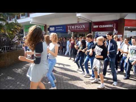 Flashmob IP Exmouth 2014
