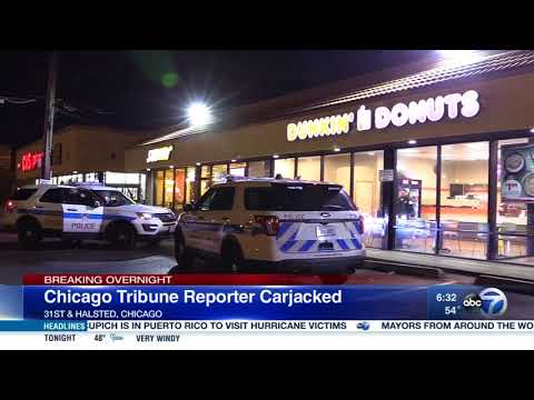 Chicago Tribune reporter carjacked in Bridgeport