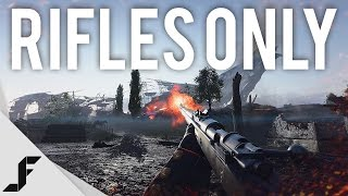 RIFLES ONLY - Battlefield 1 Giant's Shadow Gameplay