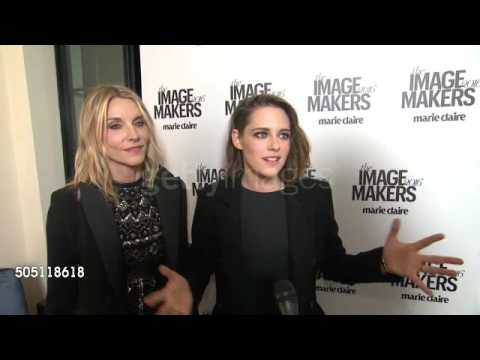 Kristen Stewart with Jillian Dempsey on  at MCMakers