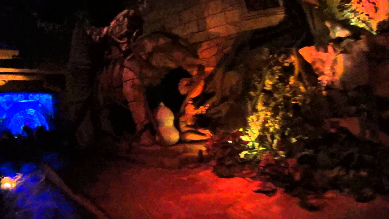 Ride Inside Rainforest Cafe Pt2 Youtube