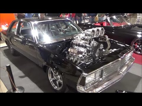 1980 Chevy Malibu Blown Pro Street GBody Dreamgoatinc Classic Muscle and  Street Rod Video