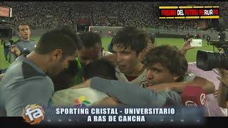 A Ras de Cancha Sporting Cristal vs Universitario 0-1 Campeón Apertura Futbol En America 01/05/2016