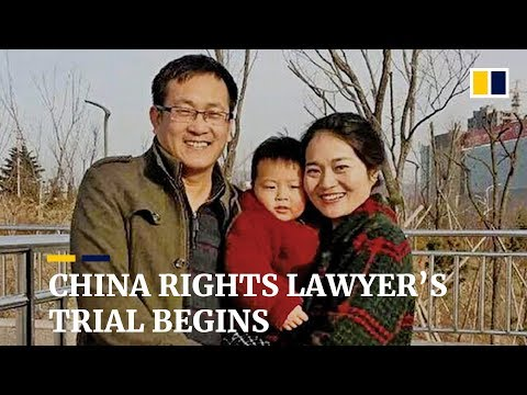 Chinese rights lawyer Wang Quanzhang goes on trial