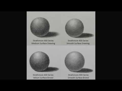 GRAPHITE: How to Choose Paper for Graphite