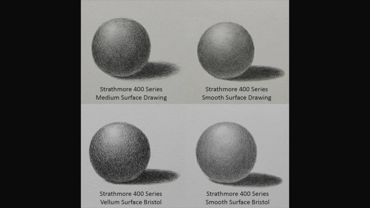Graphite how to choose paper for graphite