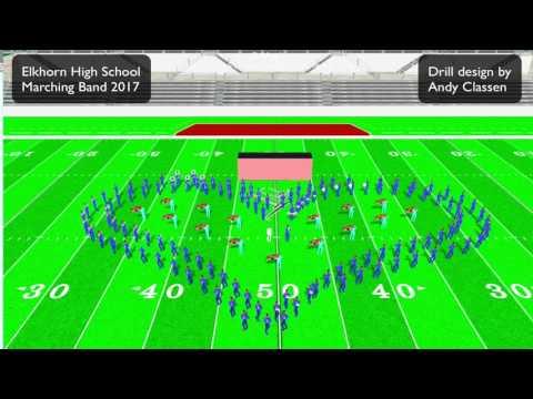 Elkhorn High School Marching Band 2017 Magic 2