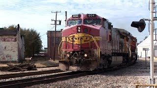 KCS and BNSF Action in Tupelo Mississippi