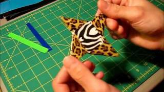 Mini Tutorial - Duct Tape Ninja Star (method 2)