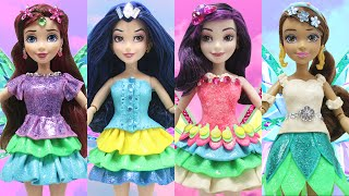 play doh fairy descendants doll mal evie audrey jane inspired costumes