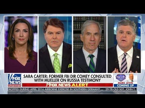 F.B.I. SPY IN TRUMP CAMPAIGN Sean Hannity Sara Carter Gregg Jarrett David Limbaugh 5102018 HD 720p
