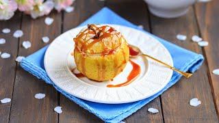 Фаршированные яблоки — видео рецепт