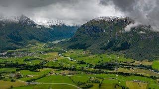 Byrkjelo in Sogn og Fjordane county Norway