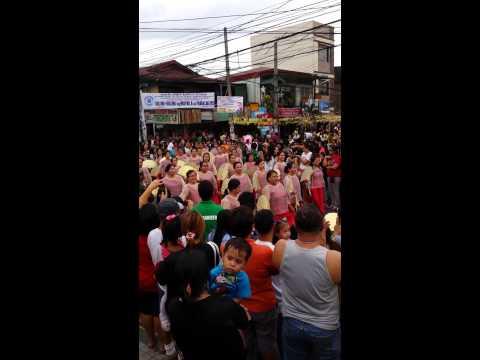 Buling buling parade in Pandacan fiesta Jan. 17, 2015