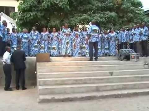 Chorale Saint  Achille en Live  à Brazzaville(Congo)
